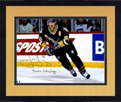 "Framed Jaromir Jagr Pittsburgh Penguins Autographed 16"" x 20"" Photograph with Moves Like Jagr Inscription"
