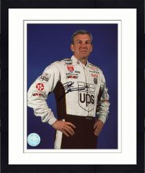 Framed Dale Jarrett Autographed 8x10 Photo