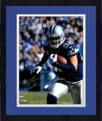 "Framed Jason Witten Dallas Cowboys Autographed 16"" x 20"" Close Up Run Photograph"