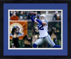 "Framed Jason Witten Dallas Cowboys Autographed 16"" x 20"" Reaching Catch Photograph"