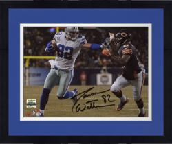 "Framed Jason Witten Dallas Cowboys Autographed 8"" x 10"" Stiff Arm Photograph"