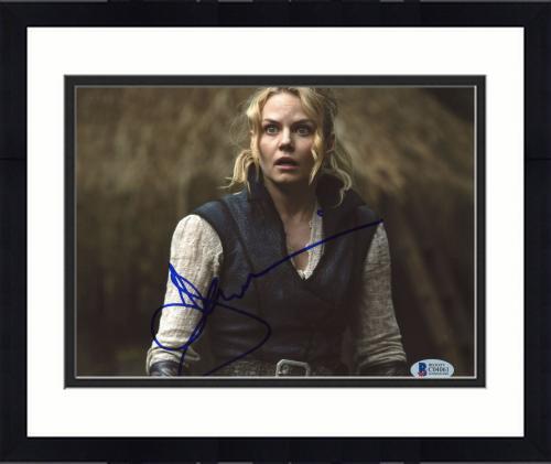 "Framed Jennifer Morrison Autographed 8""x 10"" Once Upon a Time Photograph - BAS COA"