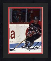 """Framed Jeremy Roenick Chicago Blackhawks Autographed 8"""" x 10"""" Action Photograph"""
