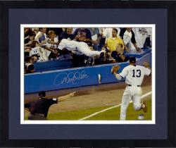 "Framed Derek Jeter New York Yankees Autographed 16"" x 20"" Dive Photograph"
