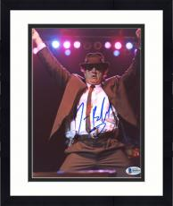 "Framed Jim Belushi Autographed 8"" x 10"" Blues Brothers Hands Up Photograph - Beckett COA"