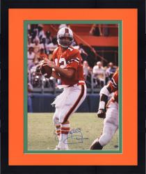 "Framed Jim Kelly Miami Hurricanes Autographed 16"" x 20"" Photograph"