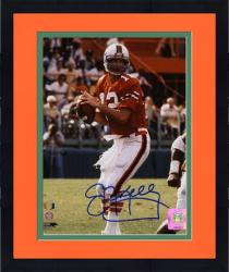 "Framed Jim Kelly Miami Hurricanes Autographed 8"" x 10"" Photograph"