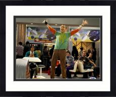 "Framed Jim Parsons Autographed 11"" x 14"" Big Bang Theory Bowling Photograph - PSA/DNA"