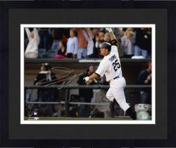 "Framed Jim Thome Chicago White Sox 500th HR Autographed 8"" x 10"" Horizontal Photograph"