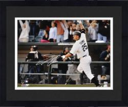 """Framed Jim Thome Chicago White Sox 500th HR Career Autographed 16"""" x 20"""" Horizontal Photograph"""