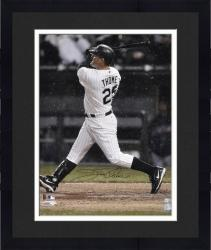 """Framed Jim Thome Chicago White Sox Autographed 16"""" x 20"""" Back Shot Photograph"""