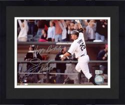 "Framed Jim Thome Chicago White Sox Autographed 8"" x 10"" Photograph with Happy Birthday Inscription"