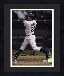 """Framed Jim Thome Chicago White Sox Autographed 8"""" x 10"""" Vertical Photograph"""