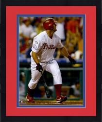 Framed Jim Thome Philadelphia Phillies Autographed 16'' x 20'' 400th Home Run Photograph