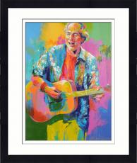 Framed Jimmy Buffett Original Artwork