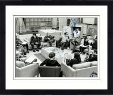 "Framed J.J. Abrams Autographed 11"" x 14""- Cast Reading With Harrison Ford Star Wars The Force Awakens Photograph Beckett COA"