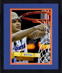 "Framed Joakim Noah Florida Gators Autographed 16"" x 20"" Cutting Net Photograph"