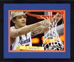 "Framed Joakim Noah Florida Gators Autographed 8"" x 10"" Cutting Net Photograph"