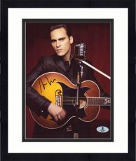 "Framed Joaquin Phoenix Autographed 8"" x 10"" Johnny Cash Photograph - Beckett COA"