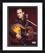 "Framed Joaquin Phoenix Autographed 8"" x 10"" Johnny Cash Photograph - Beckett COA"