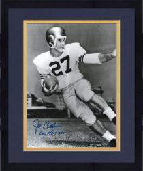 "Framed Joe Bellino Navy Midshipmen Autographed 8"" x 10"" Photograph with ""60 Heisman"" Inscription"