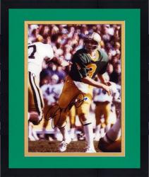 "Framed Joe Montana Notre Dame Fighting Irish Autographed 8"" x 10"" Photograph"