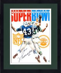 "Framed Joe Namath New York Jets Autographed 16"" x 20"" Super Bowl III Cover Photograph"