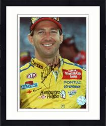 Framed John Andretti Autographed 8'' x 10'' Cheerios Head Shot Photograph