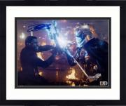 "Framed John Boyega Star Wars The Last Jedi Autographed 8"" x 10"" as Finn Photograph - Topps Authentic"