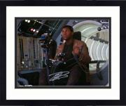 "Framed John Boyega Star Wars The Last Jedi Autographed 8"" x 10"" Finn Flying Photograph - Topps Authentic"