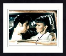 Framed John Travolta Autographed 11'' x 14'' In Car Photograph