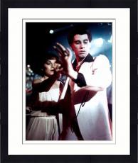 Framed John Travolta Autographed 11'' x 14'' Holding Hands Photograph