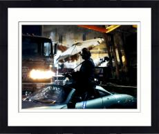 Framed John Travolta Autographed 11'' x 14'' Shooting Gun Photograph