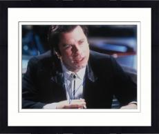 Framed John Travolta  Autographed 11x14 PSA/DNA