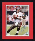 Framed Brad Johnson Tampa Bay Buccaneers Autographed 8'' x 10'' Look Throw Photograph