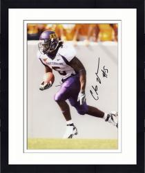 Framed JOHNSON, CHRIS AUTO (ECU/SIDE VIEW/RUNNING/BALL) 8X10 PHOTO - Mounted Memories