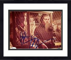 "Framed Jon Voight & Dustin Hoffman Autographed 8"" x 10"" Midnight Cowboy Both Behind Cage Photograph - JSA"