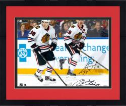 "Framed Jonathan Toews & Patrick Kane Chicago Blackhawks Dual Autographed 16"" x 20"" Photograph"