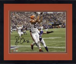 "Framed Jordan Cameron Cleveland Browns Autographed 8"" x 10"" Horizontal Catch Photograph"