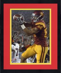 "Framed Jordan Cameron USC Trojans Autographed 8"" x 10"" Catch Photograph"