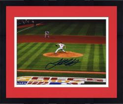 "Framed Josh Beckett Boston Red Sox 2007 ALCS Autographed 8"" x 10"" Photograph"