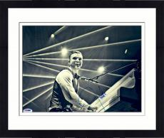 "Framed Justin Timberlake Autographed 11"" x 14"" Piano Photograph - PSA/DNA"