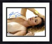 "Framed Kaley Cuoco Autographed 11"" x 14"" Posing- Hand on Head Photograph - PSA/DNA"