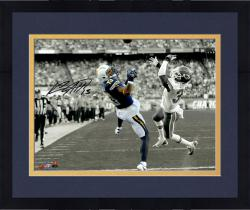 "Framed Keenan Allen San Diego Chargers Autographed 11"" x 14"" Spotlight Photograph"