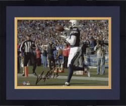 "Framed Keenan Allen San Diego Chargers Autographed 8"" x 10"" Horizontal TD Catch Photograph"