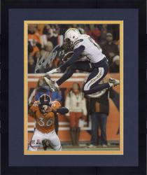 """Framed Keenan Allen San Diego Chargers Autographed 8"""" x 10"""" Vertical Jumping Photograph"""