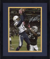 "Framed Keenan Allen San Diego Chargers Autographed 8"" x 10"" Vertical TD Catch Photograph"