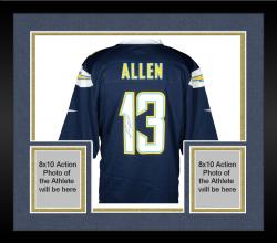 Framed Keenan Allen San Diego Chargers Autographed Nike Game Navy Blue Jersey