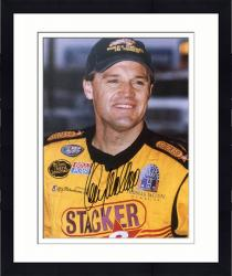 Framed Kenny Wallace Autographed 8x10 Photo