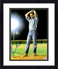 """Framed Kevin Costner Autographed 11""""x 14"""" Field of Dreams Pitching Wind Up Photograph - PSA/DNA COA"""